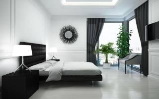Дизайн проект спальной комнаты