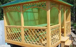 Как сделать четырехскатную крышу для беседки?