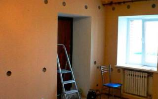Утепление стены в квартире изнутри экструдированным пенополистиролом