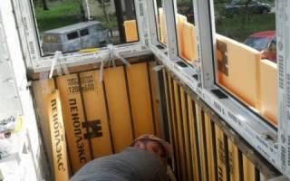 Как сделать парапет на лоджии, утепление балкона из металлопрофиля