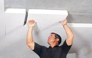 Как крепить пенопласт к бетонной стене