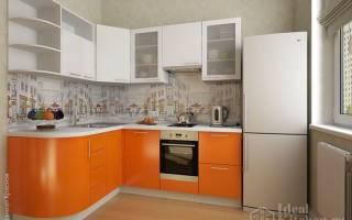 Кухня оранжевого цвета фото дизайн