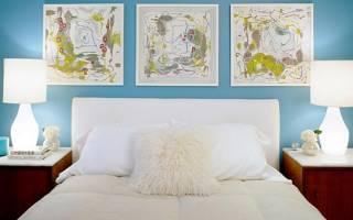 Серо голубой интерьер гостиной