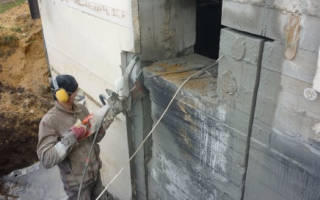 Как прорубить проем в бетонной стене