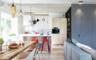 Дизайн кухни и прихожей