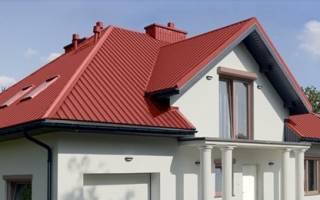 Как правильно крепить металлопрофиль на крыше?
