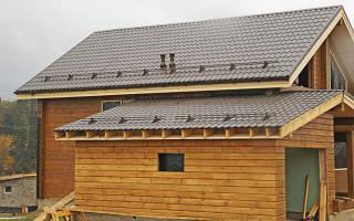 Как сделать крышу в пристройке к дому?
