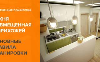 Дизайн кухни прихожей в частном доме фото