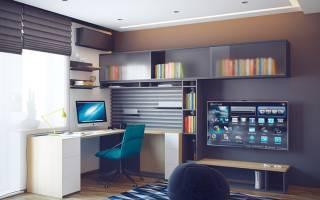 Дизайн комнаты подростка мальчика 14 17
