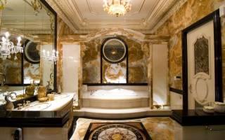 Шикарный дизайн ванны