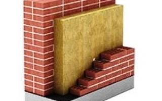 Заливной утеплитель для стен